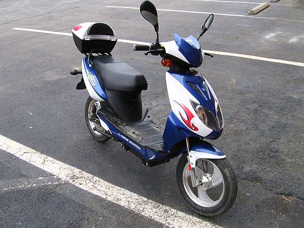 extreme xb 600 scooter